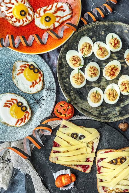 Halloween food Halloween menu party dress ideas spookiest food Indian frightening food most hated cuisines dishes disgusting how to feed kids tricksters treat hateful food items