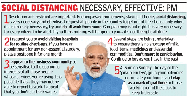 janta curfew, india, prime minister modi social distancing how to what to list of things activity with children quarantine lockdown outbreak pandemic epidemic stay safe precaution
