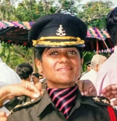 Captain RIya Nehra,Veer Nari, War Widow, Army Widow, Captain SOmesh Srivastwa, Lady Officer, Chef , Cook,entrepreneur,single mother