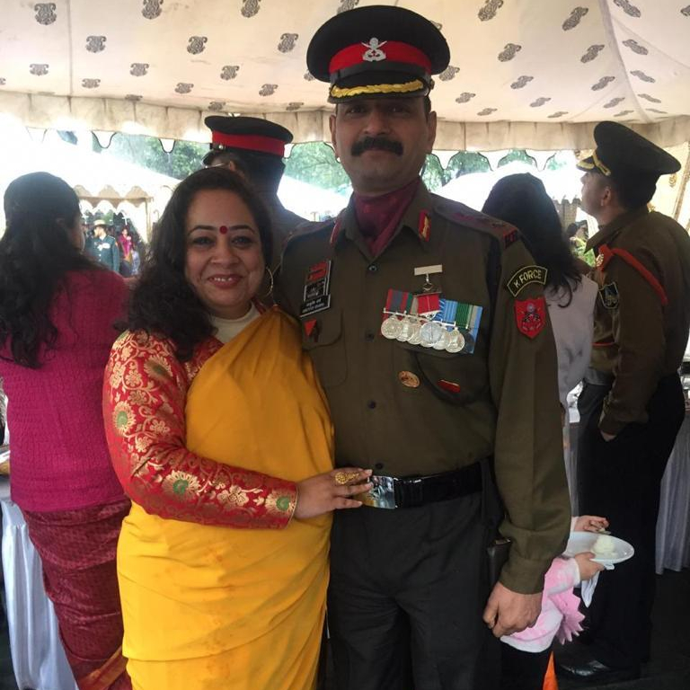 life medals death terrorists colonel Ashutosh Sharma Piush sharma brother Pallavi Sharma wife Handwara martyr sena medal bar kashmir indian army