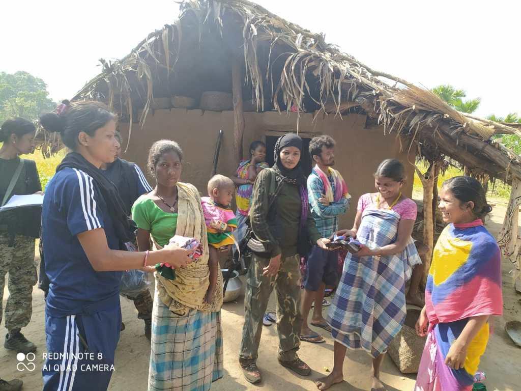 sunaina patel Chhattisgarh  DRG police force Danteshwari fighter pregnant commando woman empowerment SP Abhishek Pallav women constable feminism India empowerment