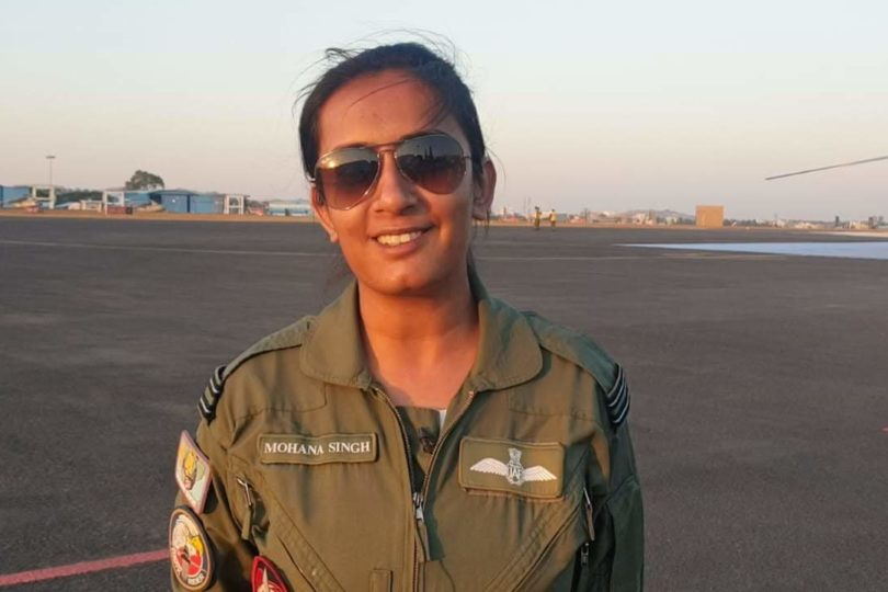 India airforce female fighter pilots woman officers feminism woman empowerment entry AFCAT Shivangi Singh mohana singh