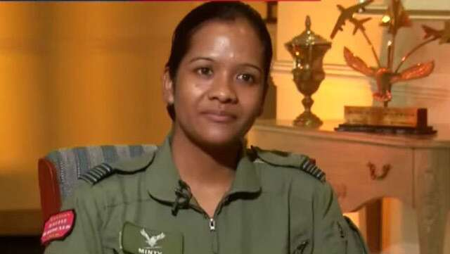 India airforce female fighter pilots woman officers feminism woman empowerment entry AFCAT Shivangi Singh mi