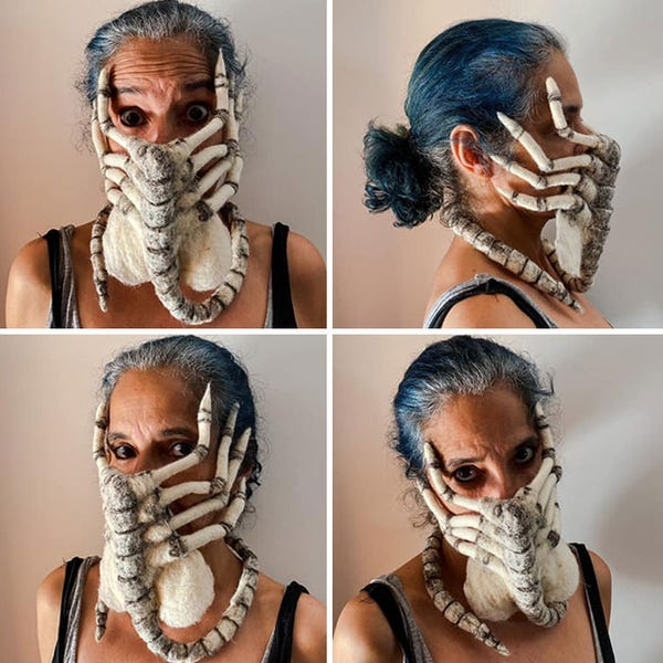 weird masks interesting masks during corona pandemic COVID 19 world india mask fashion people new design beautiful