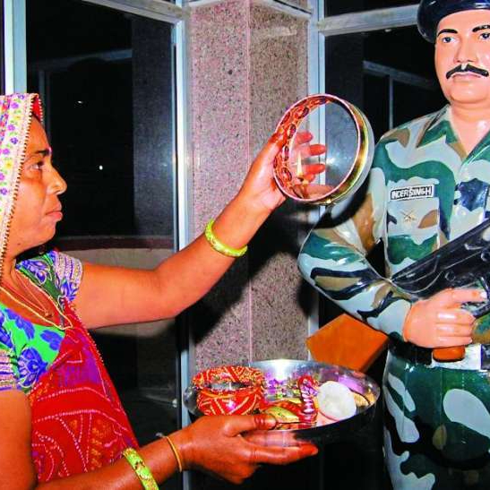 festival karwa chauth karva mlitary wife army wife navy wife airforce wife border indian army army officer army soldier armed forces wives quotes poem pictures wishes man in uniform