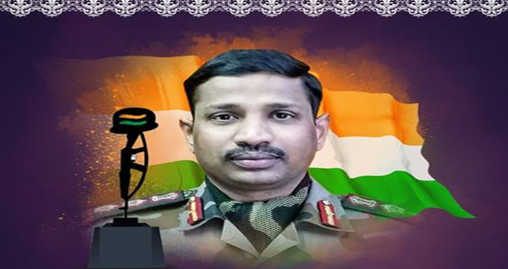 Colonel Santosh babu Santoshi father mother sister family daughter galwan valley china india clash 1962 ladakh place life story marriage date wedding children name suryapeth martyr veergati PLA Chinese award gallantry medal indian soldier indian army