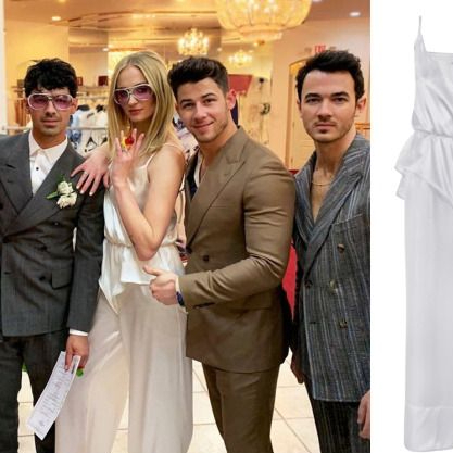 priyanka chopra, sophie turner game of thrones star joe jonas danielle jonas nick jonas jonas brothers vegas wedding bridesmaids party HD high quality pictures marriage pool party ideas